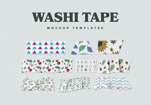 Washi Tape Mockup Set