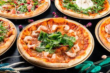 italian beetroot pizza