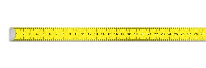 measuring ruler tape for tool roulette