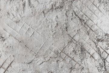 漆喰のパターン Unique pattern of an old plastered wall