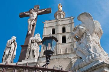 Notre Dame des Doms church at Avignon, France