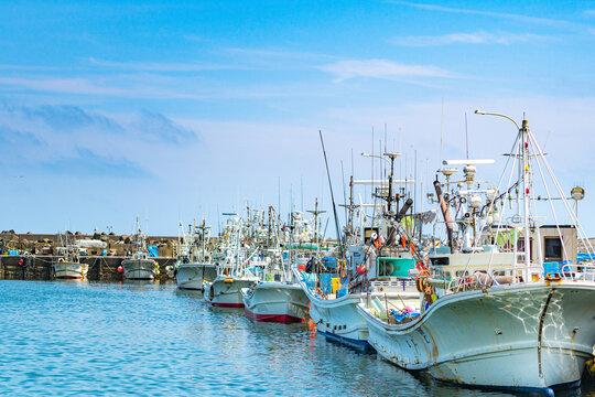 北海道の漁港 / 北海道白老港