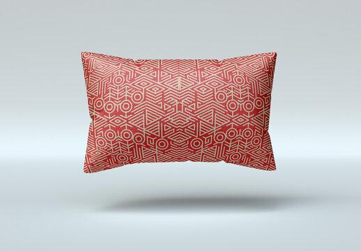 Rectangle Pillow Mockup