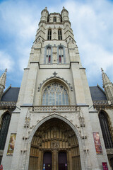 St Bavo's Cathedral (or Sint-Baafs Cathedral) in Ghent, Belgium