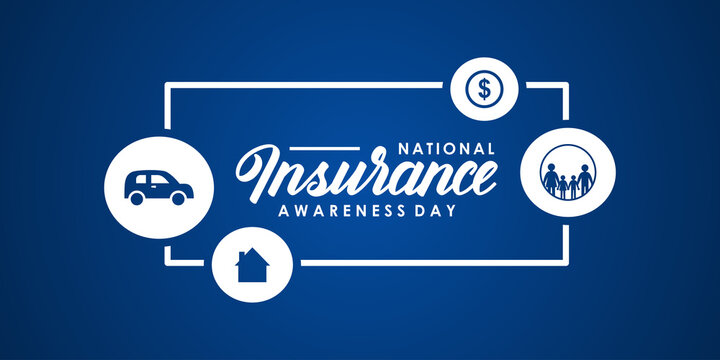 National Insurance Awareness Day Vector Design Illustration For Celebrate Moment