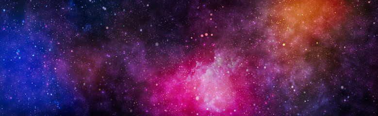 High quality space background. explosion supernova. Bright Star Nebula. Distant galaxy. Abstract image.