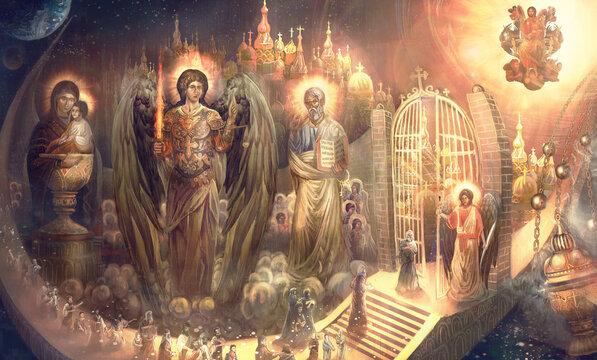entering Heaven's gates in God  Grace