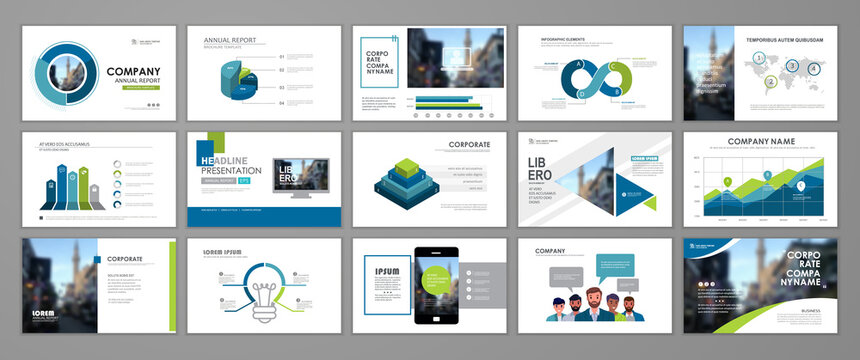Presentation templates design