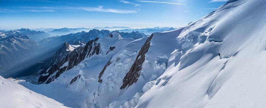 Mont Blanc panorama 1