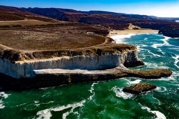 Shark Fin Cove Santa Cruz Davenport PCH Pacific Coast Highway 101 Highway One Coast Northern California