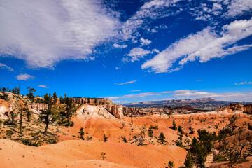Bryce National Park Landscape View - fototapety na wymiar
