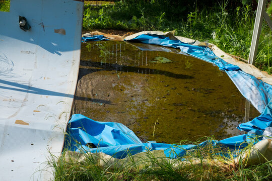 Removal of old above ground pool