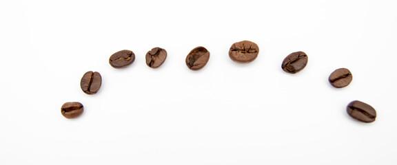 Poster Cafe ziarna kawy | coffee beans