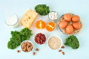 Essen mit Calcium