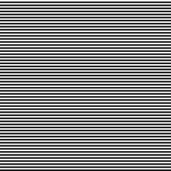 Black and white Horizontal striped seamless pattern background suitable for fashion textiles, graphics