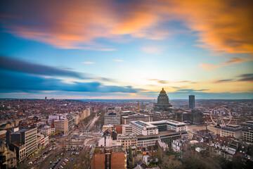Brussels, Belgium Cityscape
