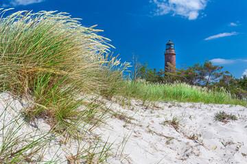 Baltic sea, Germany, Mecklenburg-Western Pomerania, Darß, Prerow, lighthouse