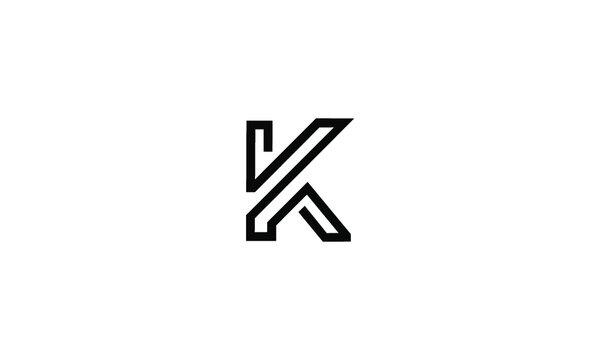 K logo vector