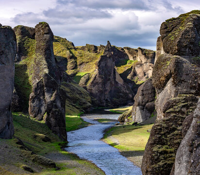 Iceland rivers