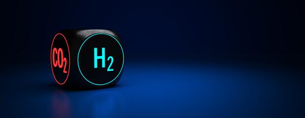 Wasserstoff ist die Zukunft und hilft die CO2 Emissionen zu reduzieren