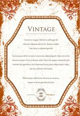 Papiers peints Affiche vintage Vintage Illustration