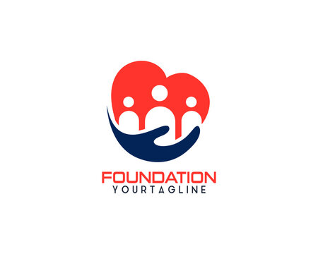 Professional charity and Foundation logo design