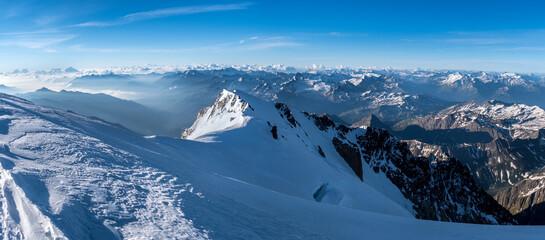 Mont Blanc de Courmayeur panorama
