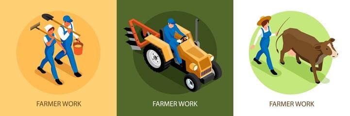 Isometric Farming Design Concept