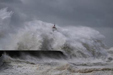 Dangerous windy Coast