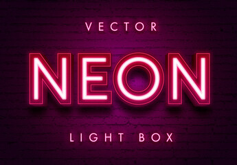 Neon Theater Light Effect