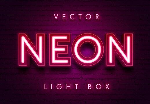 Neon Theater Light Effect