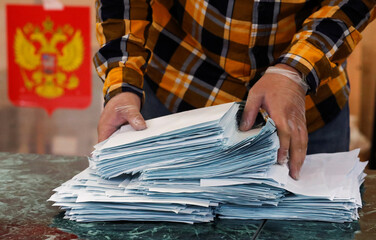 Nationwide vote on constitutional reforms, in Saint Petersburg