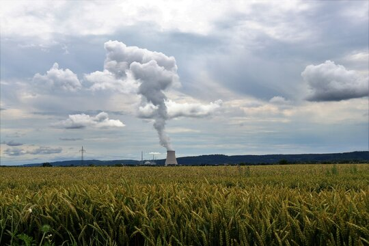 Nuclear Power Amid Nature