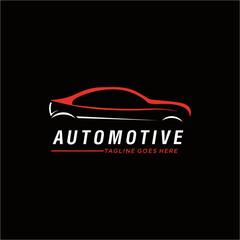 Car automotive logo template vector illustration