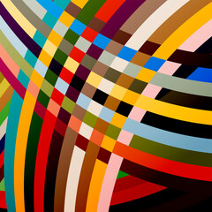 abstract background, illustration with lines, colorful
