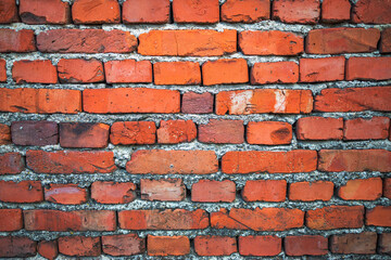 Old brick wall texture in a background