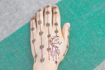 Back Hand Mehndi Designs Pic For Eid