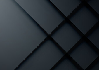 Black geometric vector background, can be used for cover design, poster, advertising