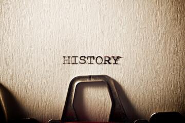 Fototapeta History concept view obraz