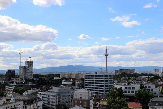 Taunus View in Frankfurt