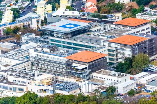 Centre hospitalier Félix Guyon, Bellepierre, Saint-Denis, Reunion