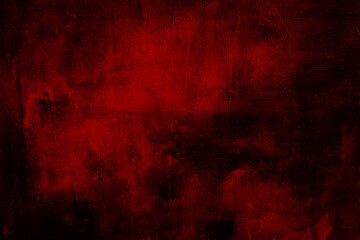 red grungy painting background or texture