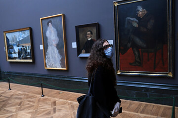 Press preview at The National Gallery in London