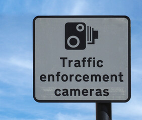 traffic enforcement camera sign