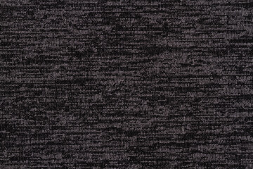 Black and gray knit textured weave material background