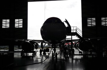 Aviones y motores de avión Fototapete
