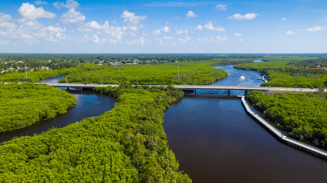 Port St. Lucie is a city on the Atlantic coast of southern Florida. The Port St. Lucie Botanical Gardens features areas devoted to orchids, bamboo and native plants, as well as butterflies and humming