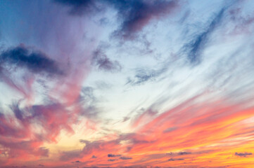Photo sur Plexiglas Corail ciel texture