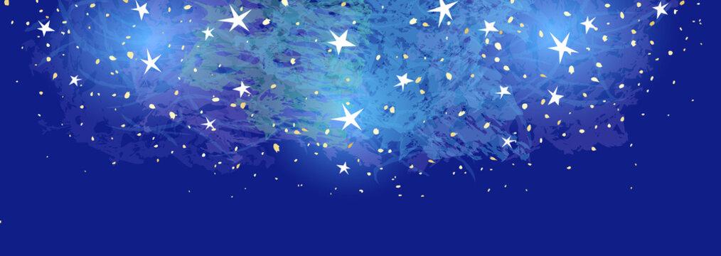 星空の横長背景