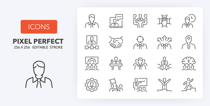 business line icons 256 x 256
